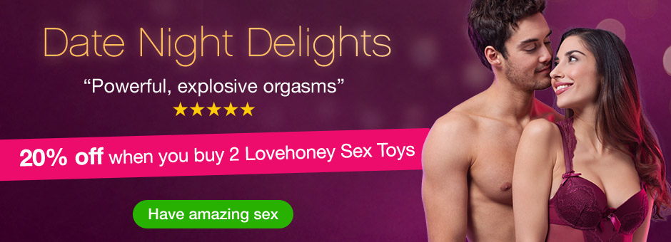 20% OFF 2 Lovehoney Toys!