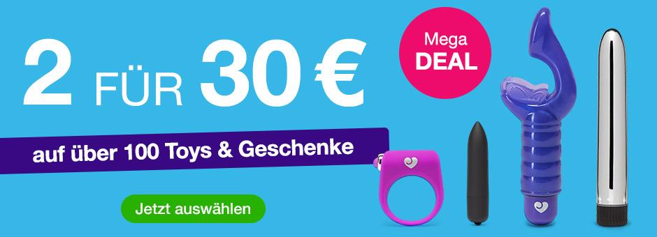 2 für 30 € - Sex Toys und Geschenke