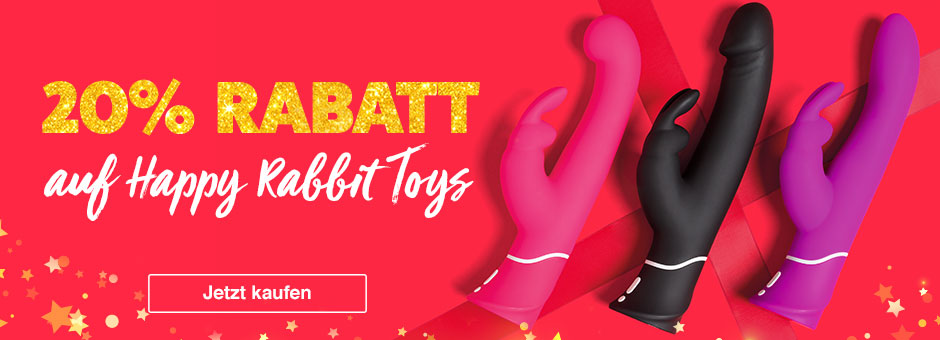20% Rabatt auf Happy Rabbit Vibratoren