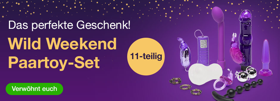 Wild Weekend Sex Toy Set für Paare