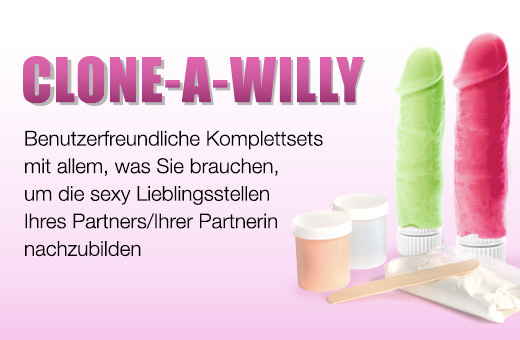 Clone-A-Willy Penis-Abdruck-Sets