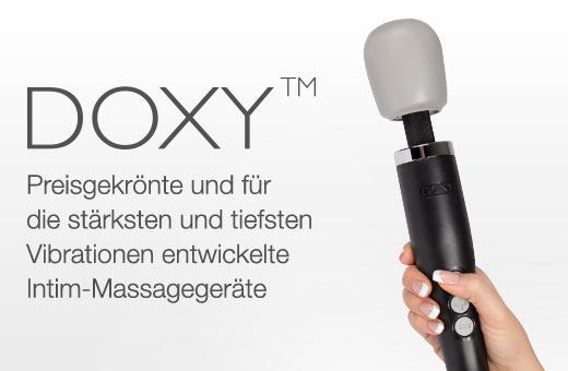 DOXY Vibrator-Massagestäbe