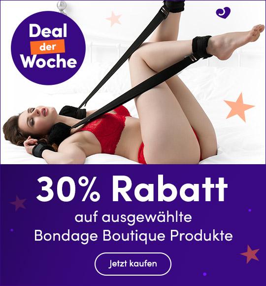 DE FYF DDW 30% Rabatt auf ausgewählte Bondage Boutique