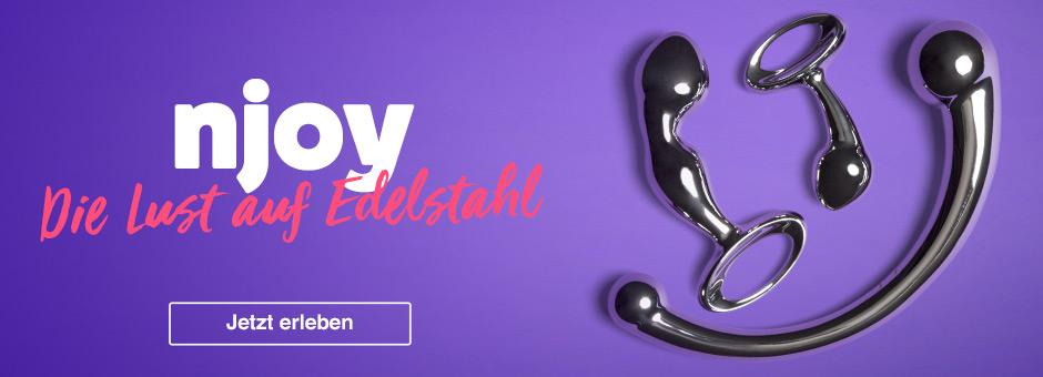 njoy Sexspielzeug aus Edelstahl bei Lovehoney