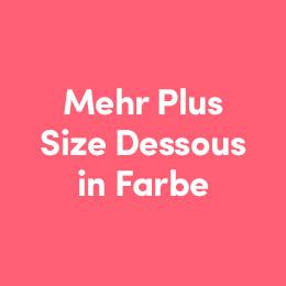 Mehr Plus Size Dessous in Farbe ansehen - Lovehoney