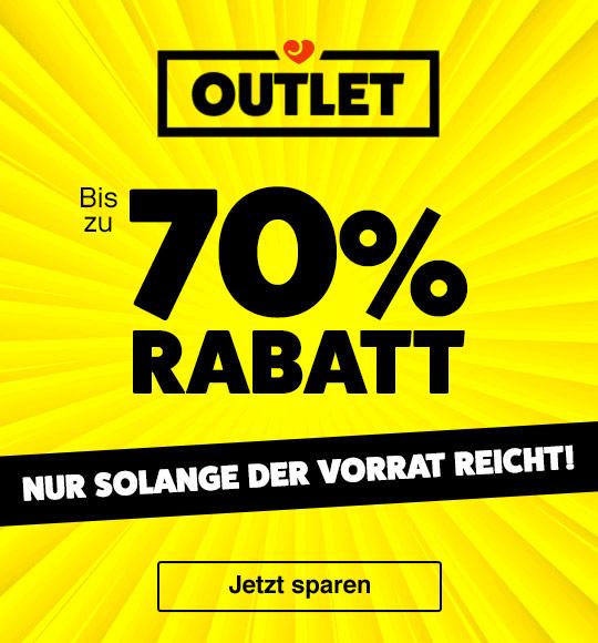 Outlet-Shopping: Bis zu 70% Rabatt