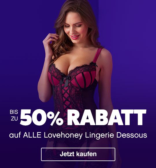 up to 50% off Lovehoney Lingerie