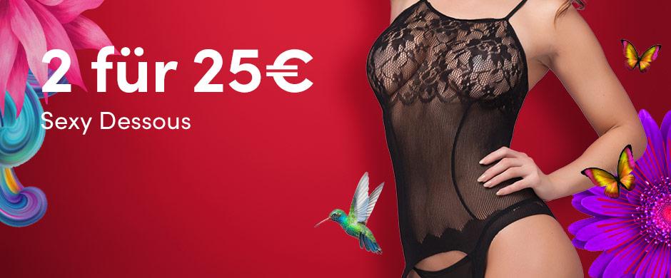 Angebot: Sexy Dessous - 2 fuer 25€ - Lovehoney.de