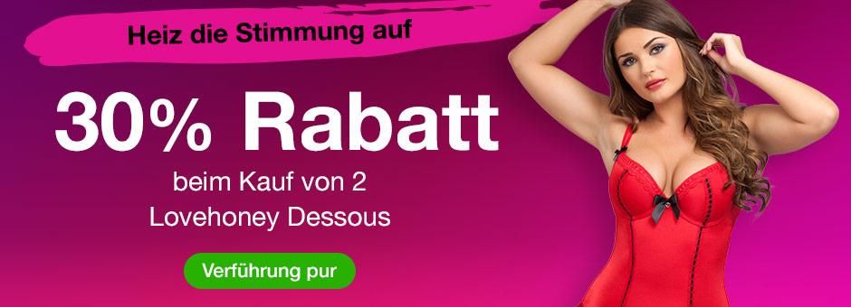 Sexy Dessous Deal - 25% Rabatt beim Kauf von 2