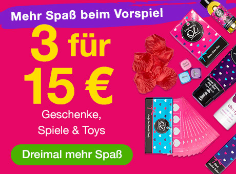 3 für 15€ Geschenke, Spiele und Toys
