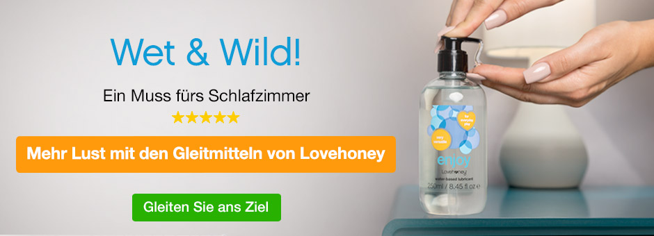 Wet and Wild - Gleitmittel von Lovehoney