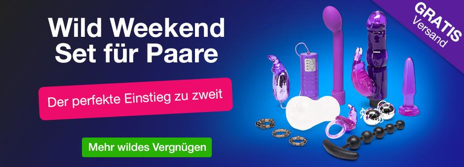 Wild Weekend Sex Toy Set für Paare