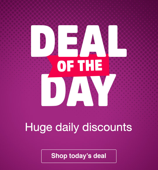 Deal of the day - huge daily discounts