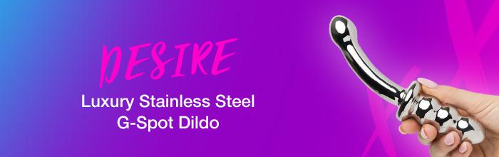 Desire Steel G-Spot Dildo