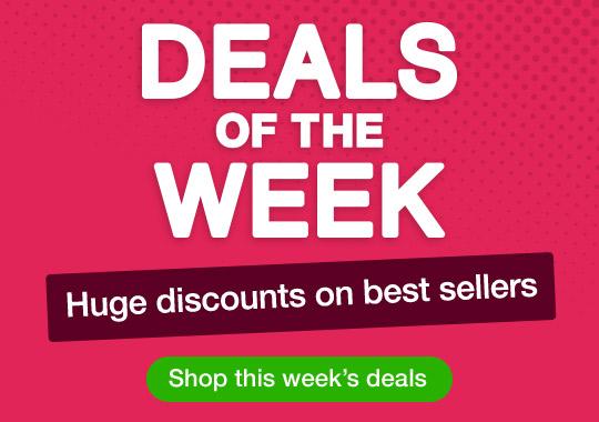 Deals of the Week - huge discounts on best sellers