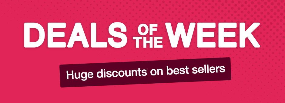 Deals of the Week - huge discounts on best sellers