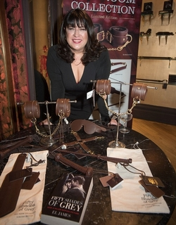 E L James launches the Red Room Collection at Coco de Mer