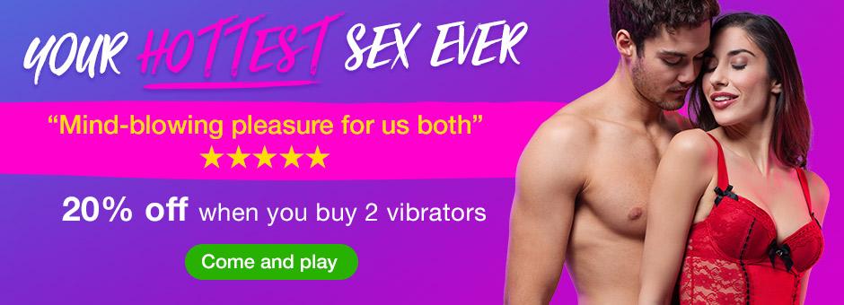 20% off when you buy 2 vibrators