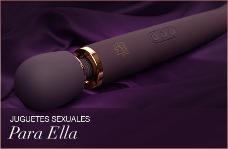 Cincuenta sombras de Grey - Juguetes Sexuales Para Ella