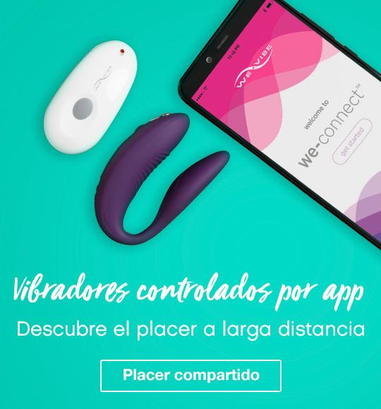 Vibradores controlados por app