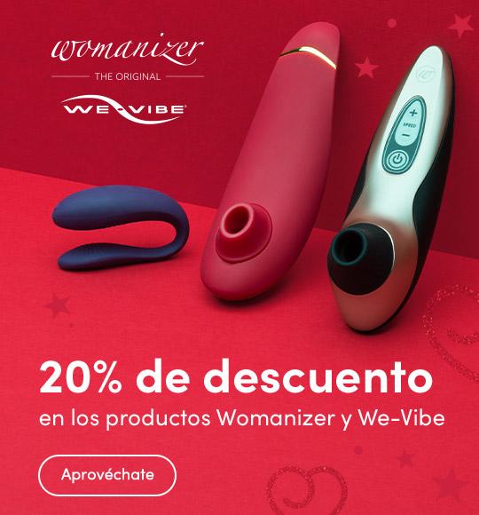 20% de descuento en los productos Womanizer y We-Vibe