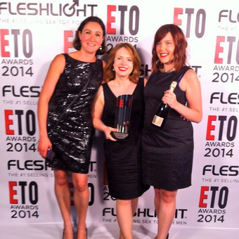 Lovehoney scooped two awards at the ETO show in Birmingham.