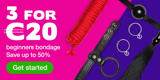 3 for €20 beginners bondage