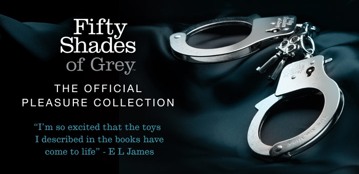 "Fifty Shades of Grey Official Pleasure Collection, que puedes adquirir en intimates.es ""Tu Personal Shopper Erótico Online"""