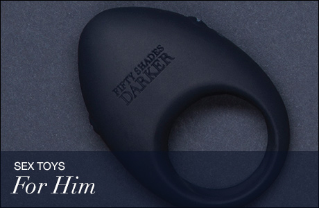 Fifty Shades of Grey Sex Toys for Him