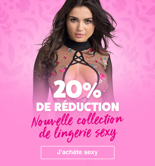 Réduction lingerie sexy nouvelle collection 2019 Lovehoney