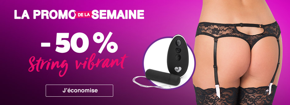 La promo de la semaine Lovehoney sex toys string vibrant