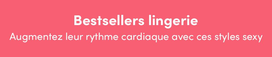Bestsellers lingerie