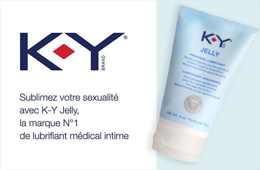 FR marque KY Jelly bannière