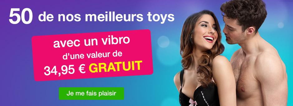 50 de nos meilleurs sex toys avec un vibro gratuit