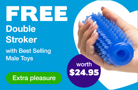 ^Free Double Stroker with Best Selling Male Toys