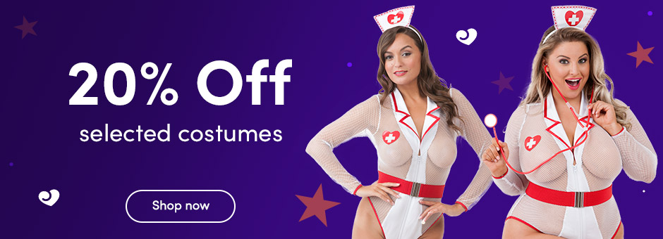 20% off costumes