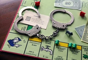 Toy With Me Tuesday Handcuffs and Monopoly