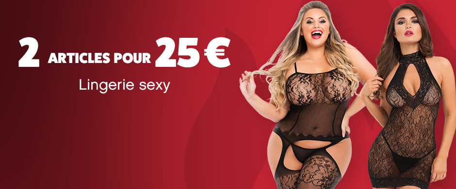 2 for 25 Sexy Lingerie