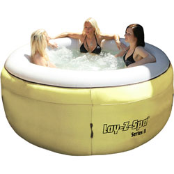 Sex Tips Winner scoops a lovely Lay-Z-Spa Hot Tub - ladies not included!