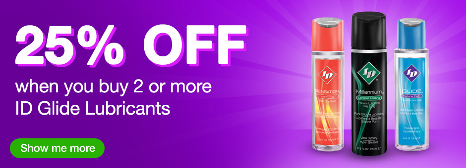 25% off when you buy 2 ID glide lubes US
