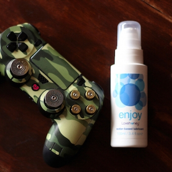 game controller and lube