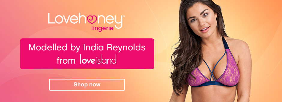 Lovehoney Lingerie & India from LoveIsland