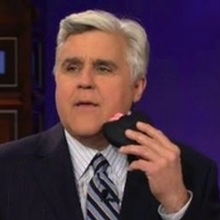 Jay Leno has a go with the Sqweel!