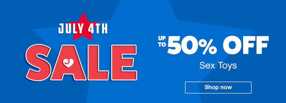 Up to 50% off sex toys
