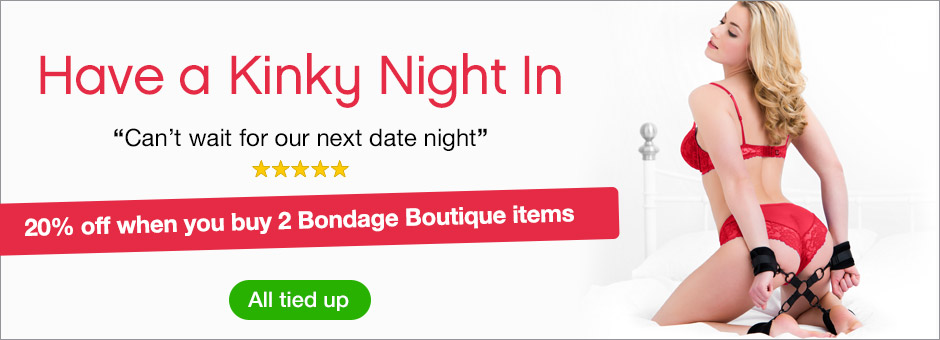 20% off when you buy 2 bondage toys