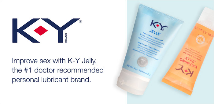 KY Jelly Brand Page Graphics