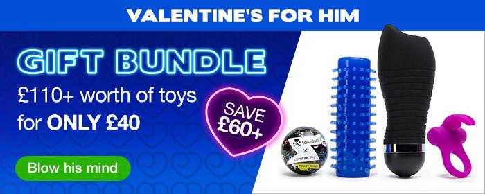 Valentines Male Bundle UK NEW