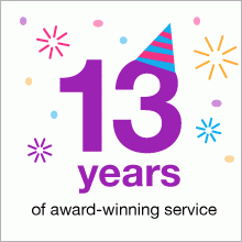 Lovehoney has been delivering award-winning service for 13 years