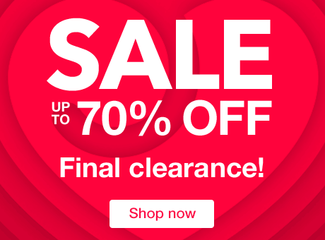 SALE - up to 70% off - Final Clearance!