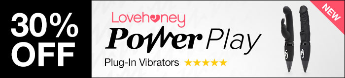 NEW Power Play Plug-In Vibrators